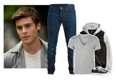 """ootd"" by l0st-demig0ds ❤ liked on Polyvore featuring SELECTED, Converse, men's fashion, menswear and L0stDemig0ds"