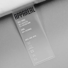 Design packaging for ethical high-tech fashion label Clothing Packaging, Fashion Packaging, Fashion Branding, Packaging Box, Packaging Design, Branding Design, Product Packaging, Product Label, Design Package