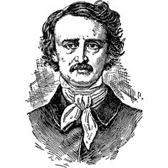 Яндекс.Картинки: Edgar Allan Poe ❤ liked on Polyvore featuring people, fillers, edgar allan poe and poe