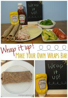 Make Your Own Wraps