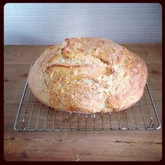 Sourdough bread from Herman the German Friendship Cake!