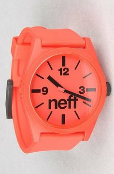 NEFF The Daily Watch in Red,Watches for Men, One Size,Red on http://watches.kerdeal.com/neff-the-daily-watch-in-redwatches-for-men-one-sizered
