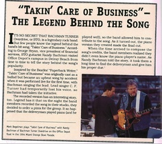 "Click here to see the background behind Office Depot's famous ""Takin' Care of Business"" song!"