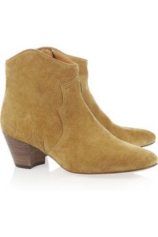 Isabel Marant suede and ankle boots