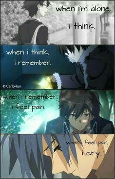54 Best Anime Quotes Broken Sad Hurt Images Manga Quotes