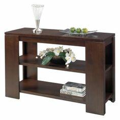Progressive Furniture Sofa Table - Vintage Walnut