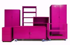 Pinned by #conceptcandieinteriors Modern Office Furniture: Heartwork for the best modern office storage, seating, and desks online.  #pink #girly
