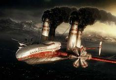 flying steamliner!