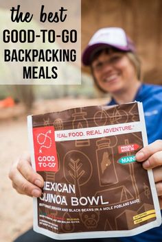 Looking for easy, healthy and tasty food for your next backpacking trip? Here's a review of my 6 favorite Good-To-Go Meals that will take your backpacking menu to the next level.