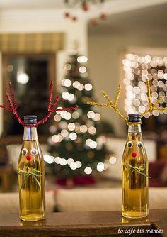 Λικέρ πορτοκάλι Xmas, Christmas, Food And Drink, Lemon, Cooking Recipes, Spirit, Wine, Table Decorations, Drinks