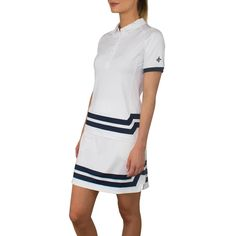 Designer women's golf clothing from J. The Golf Society has the best range of stylish and functional golf clothing. Golf Outlet, Golf Sweaters, Golf Wear, Golf Skirts, Golf Pants, Golf Clothing, Stretch Shorts, Golf Fashion, Black Tights