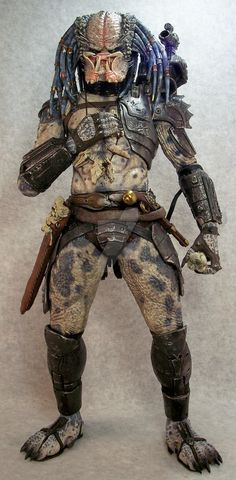 Custom NECA Elder predator by mangrasshopper on DeviantArt