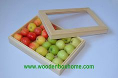 https://flic.kr/p/djRe1S | Clear Glass Lid Wooden Box | Do you like this  clear glass lid wooden boxes  ? I am sure you will like it, It is really a charming fruit packing box.  Made of solid pine wood with natural finish inside and outside, gift box is very clean. Beautifull wooden pattern can be seen clearly and each box has its unique pattern. Interlocking lift off lid can keep the lid with bottom in the fixed place without moving around.  Transparent lid is unique design to this gift…