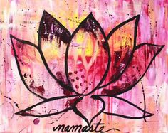 This is a fine art poster print. The original can be purchased in the Original Paintings section of my Etsy store. TITLE: Namaste SHIPPING: This Ayurveda, Etsy Store, Original Paintings, Etsy Seller, Fine Art, Canvas, Illustration, Creative, Poster