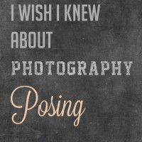 20 Things I Wish I Knew About Photography Posing (. Put weight on the back leg. Have clients angle their shoulders so they're not square to your camera and put their weight on their back leg. This automatically makes them relax., Always bring a step stool, and more)