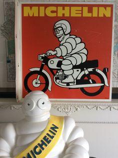 Bibendum rêve d'une moto