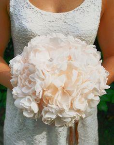 Vintage Fabric Flower Bridal Wedding Brooches Bouquet Hochzeit Brautstrauß | eBay