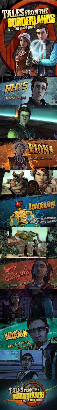 Tales from the is brilliant and uniquely Borderlands… Video Games Xbox, New Video Games, Xbox One Games, Assassin's Creed Black, Assassins Creed Black Flag, Borderlands Series, Tales From The Borderlands, Ps4, Playstation Games