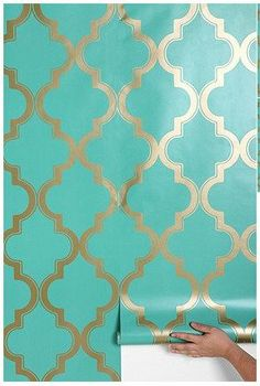 Removable Wallpapers by Style: Modern Renters Solutions | Apartment Therapy Apartment Therapy, First Apartment, Temporary Wallpaper, Renters Solutions, New Homes, Heim, My Dream Home, Sweet Home, House Styles