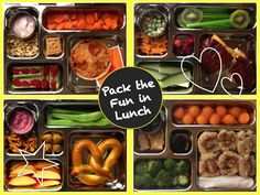 Back to school means prepping nutritious lunches for your little school-goers. Try out these healthy ideas from Madison Moms Blog, and keep lunch FUN!{citymomsblog.com/madison}