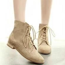 IYATO - Lace-Up Ankle Boots
