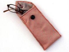 Eski Kravattan Gözlük Kılıfı