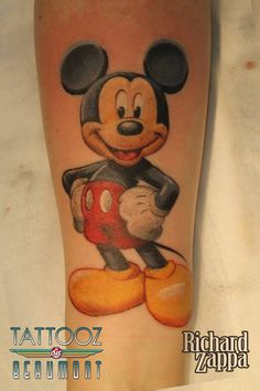 Mickey Mouse Tattoo by zuluDROOG