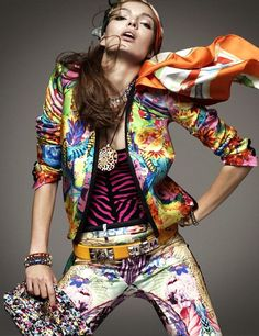 Carola Remer | Greg Kadel  #photography | Vogue German January 2012