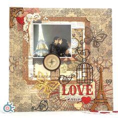 """Retablo de amor ❤ Decora un maravilloso momento. #amor #love #paris #retablo #scrapbookeurope…"""""""