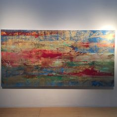 """""""""""Golden Vision Agape"""" by #MakotoFujimura. Part of our new exhibition """"Survey of Contemporary Japanese Art"""""""""""
