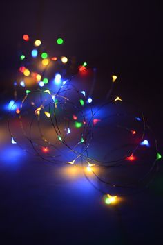 LED Fairy Lights Multi-color 20ft - 60ct