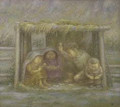 Russian Artist Zhamso Radnaev