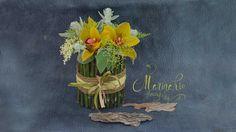 Флористика композиция из живых цветов. ( Мастер класс) Floristic composi...