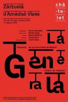 Phillipe Apeloig - Chatelet Theatre - //