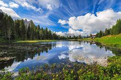 Spring time on mountain lake by Gabriel Spadoni B. -wazer- on 500px