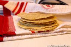 Kukuřičné tortilly