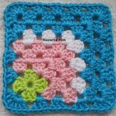 Transcendent Crochet a Solid Granny Square Ideas. Inconceivable Crochet a Solid Granny Square Ideas. Filet Crochet, Crochet Motifs, Crochet Blocks, Granny Square Crochet Pattern, Crochet Squares, Crochet Blanket Patterns, Crochet Stitches, Knitting Patterns, Ravelry Crochet