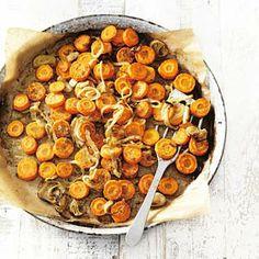 Recept - Geroosterde peen met citroen - Allerhande