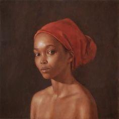 Figure - Red Scarf by Harry Holland Black Women Art, Black Art, National Museum Of Wales, Tate Gallery, Call Art, World Photo, Red Scarves, London Art, Beautiful Paintings