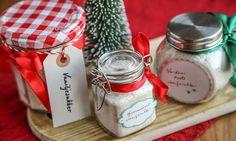 vaniljesukker i små krukker Container, Baking, Gifts, Food, Christmas, Xmas, Presents, Bakken, Weihnachten