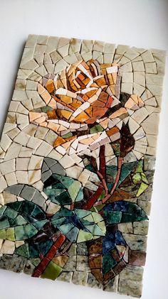 Mosaic Tile Art, Mosaic Artwork, Marble Mosaic, Stone Mosaic, Mosaic Glass, Mosaic Mirrors, Fused Glass, Mosaic Pots, Mosaic Drawing