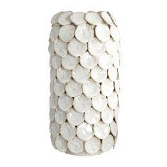 Vase DOT blanc - HOUSE DOCTOR