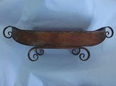 Copper Centerpiece Bowl by antiquesplusmore on Etsy