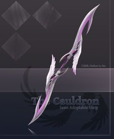 [The Cauldron] Double Sided Pai Sword- Stage 2 by furesiya.deviantart.com on @DeviantArt