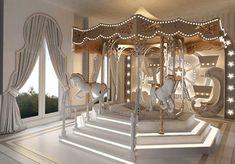 Likes, 119 Comments - Interior Design Luxury Kids Bedroom, Bedroom For Girls Kids, Luxury Nursery, Kids Bedroom Designs, Little Girl Rooms, Kids Rooms, Baby Room Decor, Home Decor Bedroom, Deco Jungle