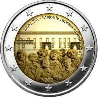 "Malta bijzondere 2 Euromunten - Malta 2 Euro 2012 ""Stemrecht"""