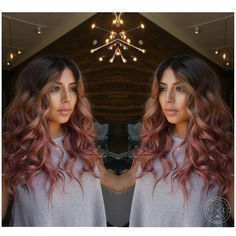 A smokey pink Headband Hairstyles, Pretty Hairstyles, Amazing Hairstyles, Balliage Hair, Texas Hair, Natural Hair Styles, Long Hair Styles, Ombre Hair, Pink Hair