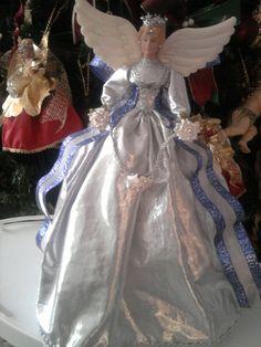 MUÑECAS DOLLI Y ANGELES DECORATIVOS PORCENALISADOS - Guadalajara Ghost Of Christmas Past, Christmas 2015, Christmas Angels, Xmas, Angel Decor, Glamour Dolls, Glow, Christmas Decorations, Barbie