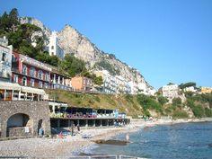 Capri: Spiaggia di Marina Grande
