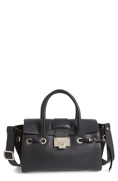 Jimmy Choo 'Small Rosa' Leather Satchel available at #Nordstrom
